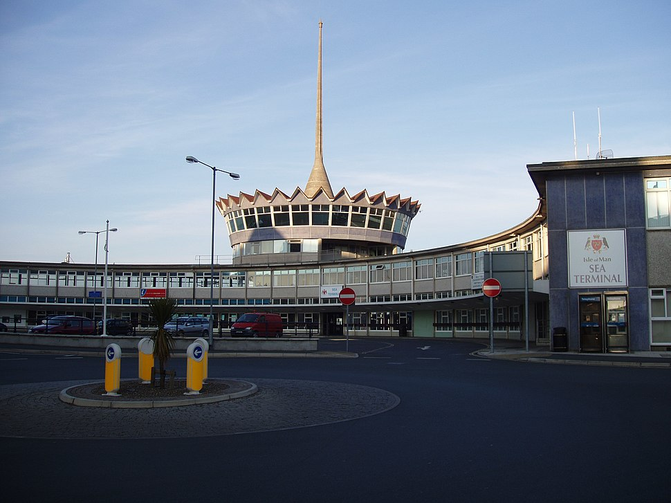 Douglas Sea Terminal - Isle of Man - kingsley - 20-APR-09