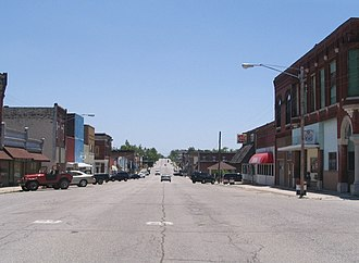 National Register of Historic Places listings in Cherokee County, Kansas - Image: Downtown Galena
