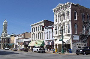 Georgetown, Kentucky - Image: Downtown Georgetown Kentucky