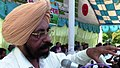 Dr. B S Dhillon VC of PAU at Farmers Meet Ballowal Saunkhri 03.jpg