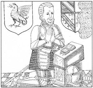 Ash, Musbury - Image: Drake Brass Filleigh Drawing