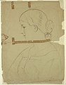 Drawing, Woman in Profile, Model in Rome, 1840 (CH 18565887).jpg