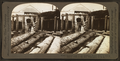 Drawing logs up the incline to second floor of mill to deliver them to the saw, Washington, U.S.A, from Robert N. Dennis collection of stereoscopic views.png