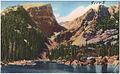 Dream Lake (alt. 9,950 ft.) and Hallet Peak, Rocky Mountain National Park, Colorado (7725167862).jpg