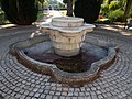 Drinking well and fountain. - Tagore Promenade, Balatonfüred.JPG