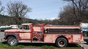 Lake Pillsbury - Image: Dry Creek Fire District 71