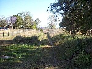 Harrisville, Queensland - Former Dugandan railway line, 2009
