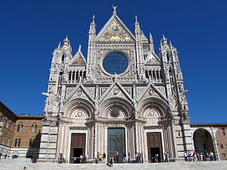 Siena Cathedral Medieval church in Tuscany, Italy