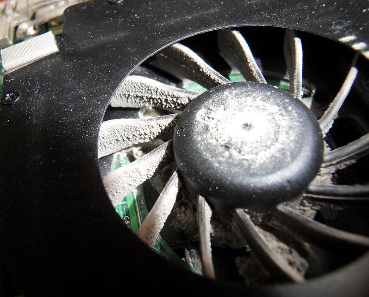 File:Dusty computer cooling fan.JPG