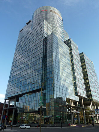 CGI Group - E-Commerce Place in Montreal, Quebec (pictured) has 27 floors and was completed in early 2003. Its primary tenant is CGI, which has been based in Montreal since the 1970s.