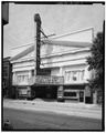 EAST FACADE FROM NORTHEAST - Columbia Theatre, 215 Riverside Mall, Baton Rouge, East Baton Rouge Parish, LA HABS LA,17-BATRO,7-2.tif