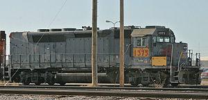 EMD GP40-2 - Image: EMD GP40P 2