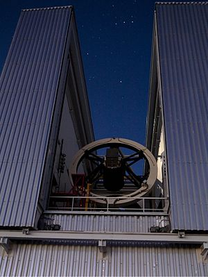 New Technology Telescope - ESO's New Technology Telescope at La Silla