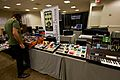 EarthQuaker Devices booth, above Low-Gain Electronics booth - Knobcon 2014.jpg