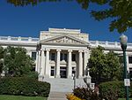 East (farther) at Historic Utah County Courthouse, Jul 15.jpg