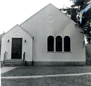 East Litchfield Village, Connecticut - The East Litchfield Chapel was built by local residents in 1868. It still stands today.