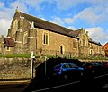 East side of St Gabriels Church, Cwmbran (geograph 6060759).jpg