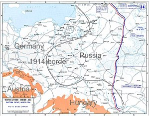 Brusilov Offensive - Image: Eastern Front 1916a 2