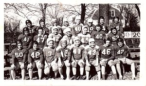 Women's American football - The Eastern State Women's Football Team, 1945