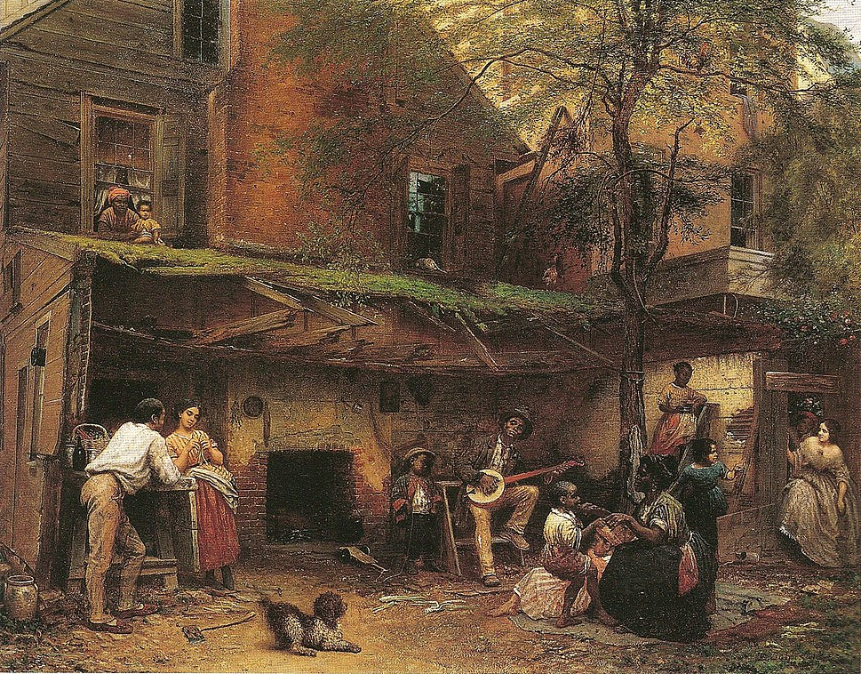 Eastman Johnson - Negro Life at the South - ejb - fig 67 - pg 120