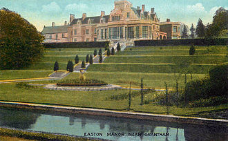 Easton, Lincolnshire - Easton Hall in the early 20th century
