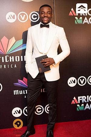 Ebuka Obi-Uchendu - Ebuka at the 2014 Africa Magic Viewers Choice Awards