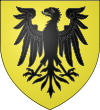 Ecu d'or à l'aigle de sable.svg