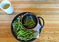 Edamame snack with green tea.jpg
