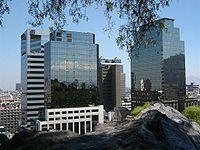 Edificios en Santiago