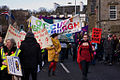 Edinburgh public sector pensions strike in November 2011 12.jpg