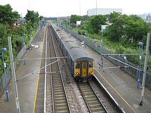 Angel Road railway station - Image: Edmonton, Angel Road railway station geograph.org.uk 848642