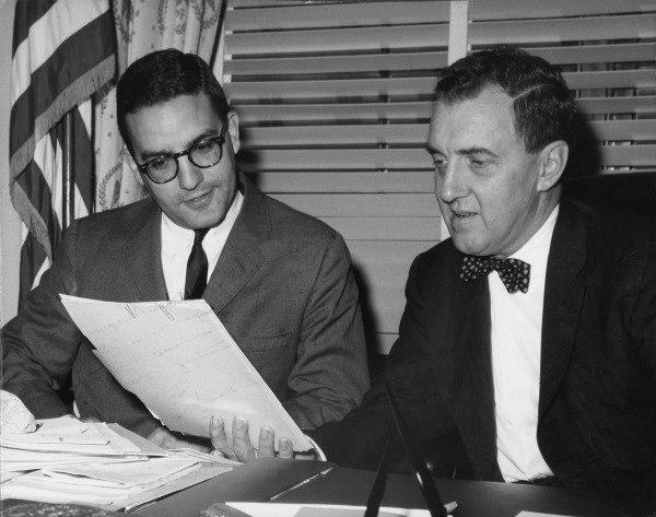 Edmund Muskie and George Mitchell