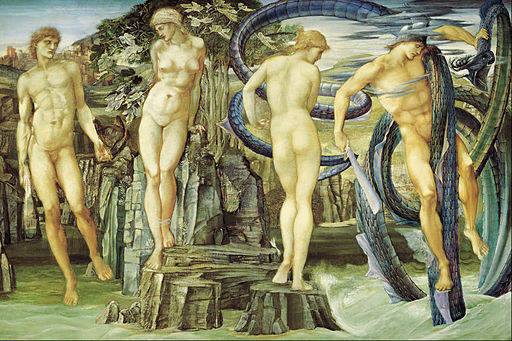 Edward BURNE-Jones - Perseus and Andromeda - Google Art Project