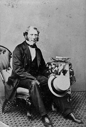 Arthur Dudley Dobson - Edward Dobson, ca 1866