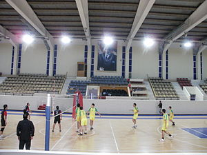 Ege University - Volleyball tournament between faculties (University sport hall)
