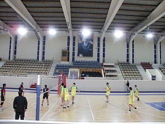 Ege University - Volleyball tournament between faculties (University sport hall)