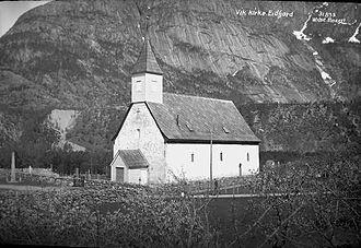 Eidfjord - Old Eidfjord Church