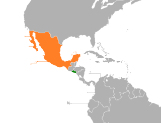 Diplomatic relations between the Republic of El Salvador and the United Mexican States
