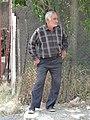 Elderly Man in Street - Vank Village - Nagorno-Karabakh (19018127650).jpg