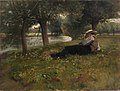 Eliphalet Fraser Andrews - Man Reclining beside a Stream - 1916.6.37 - Smithsonian American Art Museum.jpg