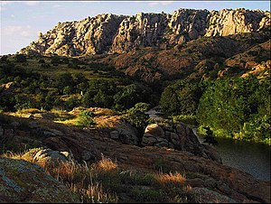 Oklahoma - Elk Mountain, in the eastern Wichita Mountains