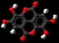 Ellagic acid 3D ball.png