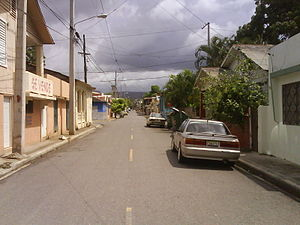 La Vega, Dominican Republic - Parque Hostos sector