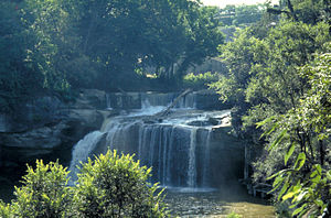 Elyria, Ohio - East Falls on the Black River in Cascade Park