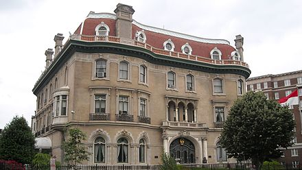 Walsh home in Washington, DC Embassy of Indonesia United States.JPG