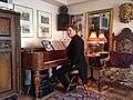 Emil Eikner & Wallman piano gift 2014.jpg