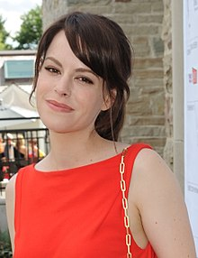 Emily Hampshire teddy geiger