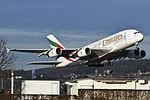 Emirates Airbus A380-861 - A6-EDC - ZRH (23183111263).jpg