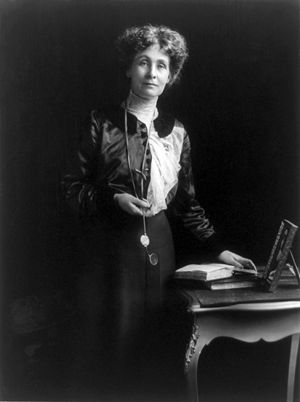 Suffragette - Emmeline Pankhurst was the most prominent of Britain's suffragettes.