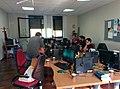 Encuentro 50,000 artículos Wikipedia en asturiano 02.jpg